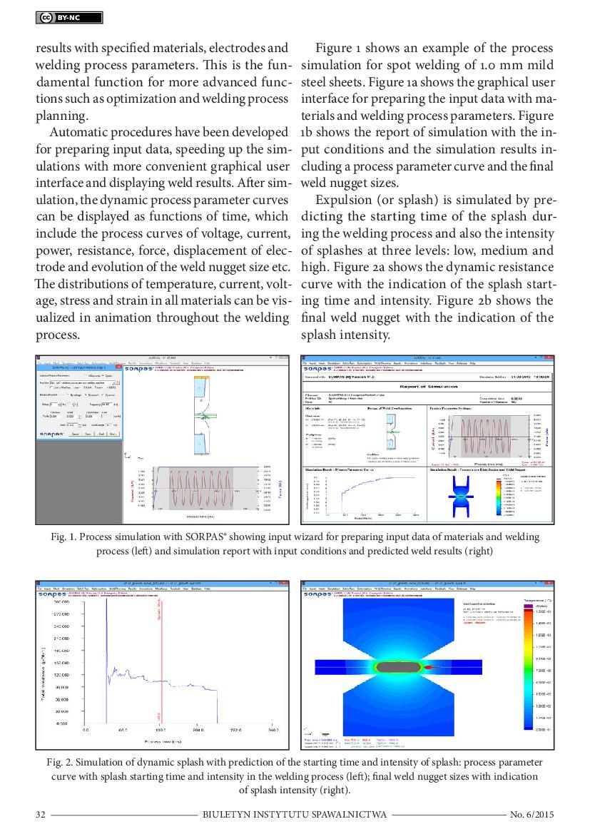 Latest Developments In Simulation And Optimization Of Resistance Diagram Welding Process Processes