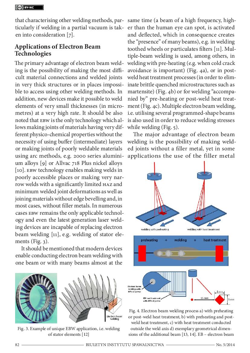 electron beam welding thesis Abstract: the characteristics of ultrasonic wave reflection on weld defects in electron beam welding (ebw) pistons are investigated in this paper.